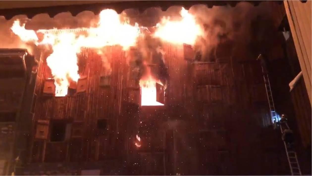 Al menos dos muertos en incendio en estación de esquí