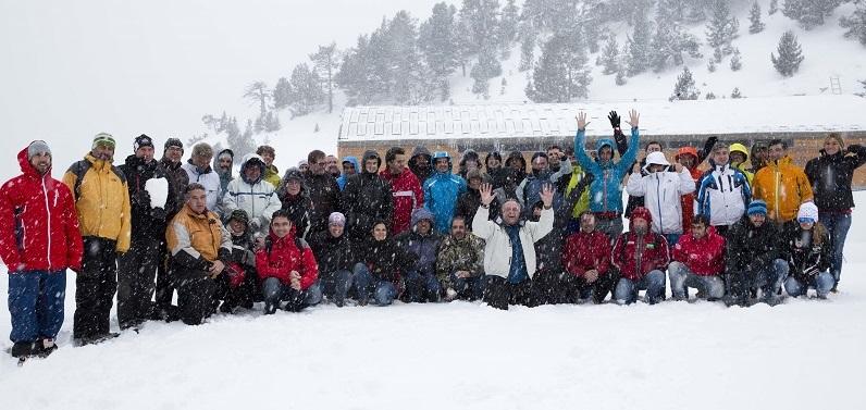 influencers del mundo de la nieve en Vallnord