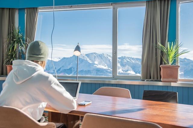 freelancer Ski en Laax