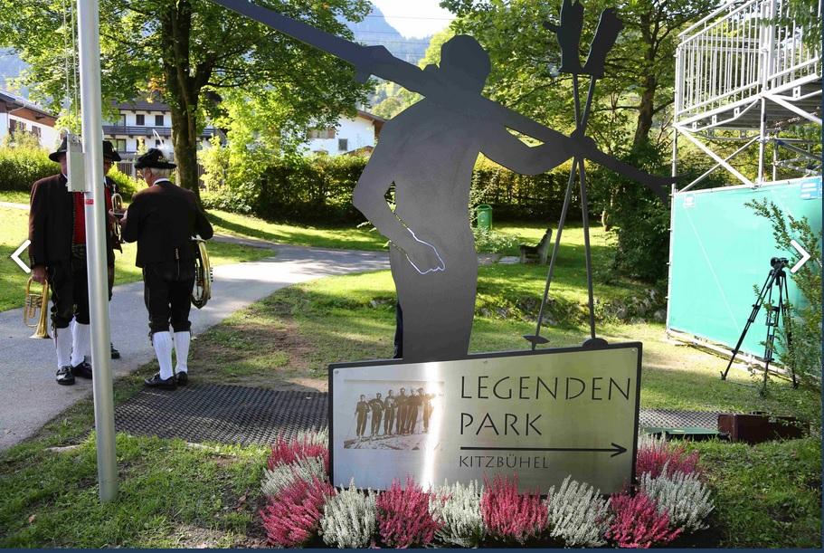 Hahnenkamm Park en Kitzbühel