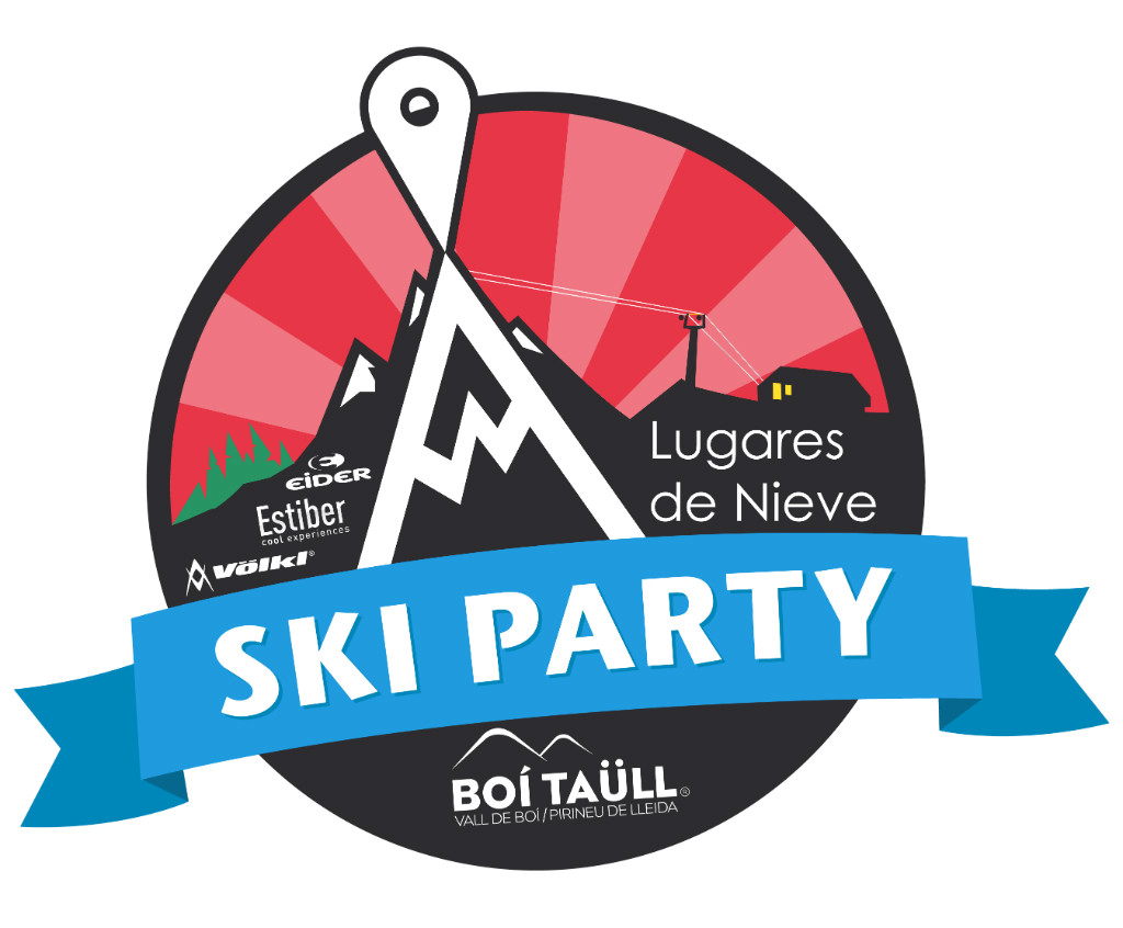 Logo Ski Party 2016 en Boí Taüll