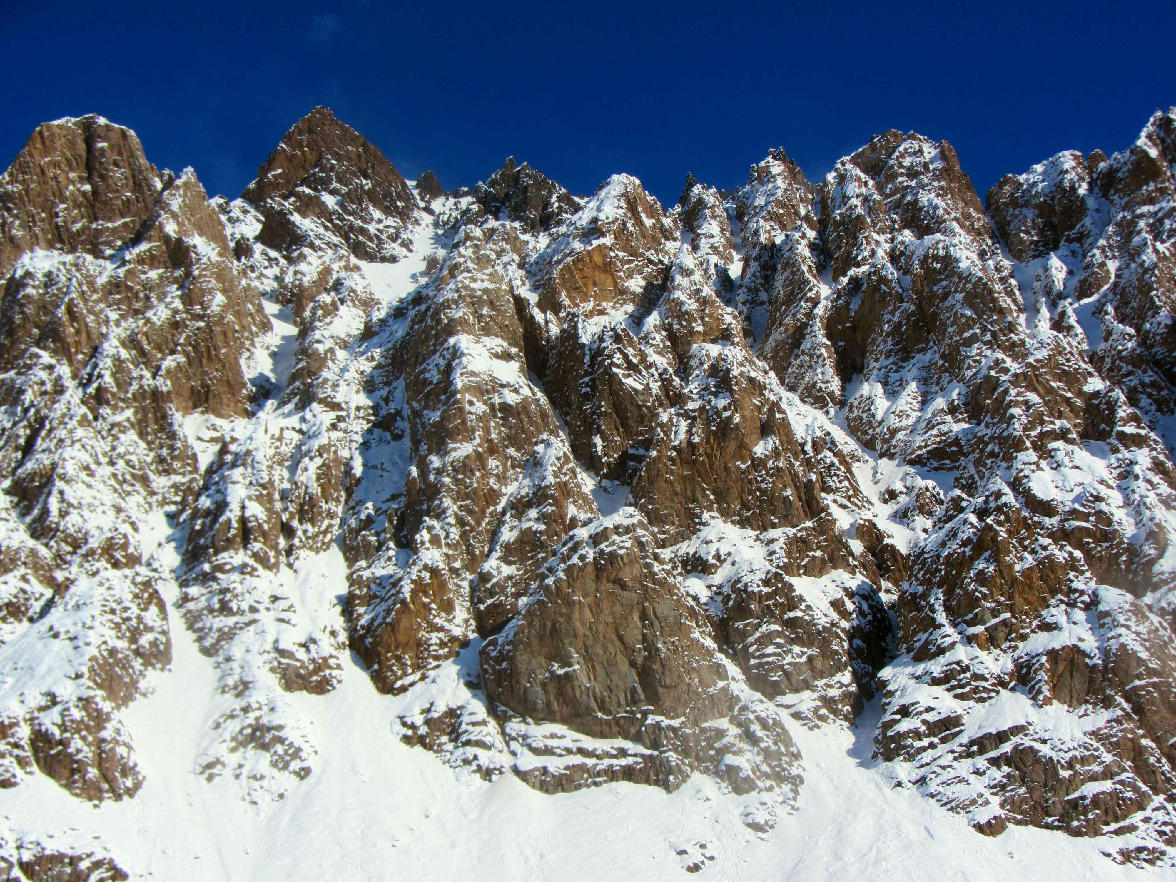 Montañas Penitentes