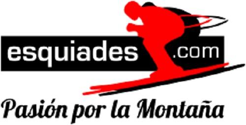 Logo y claim de Esquiades.com