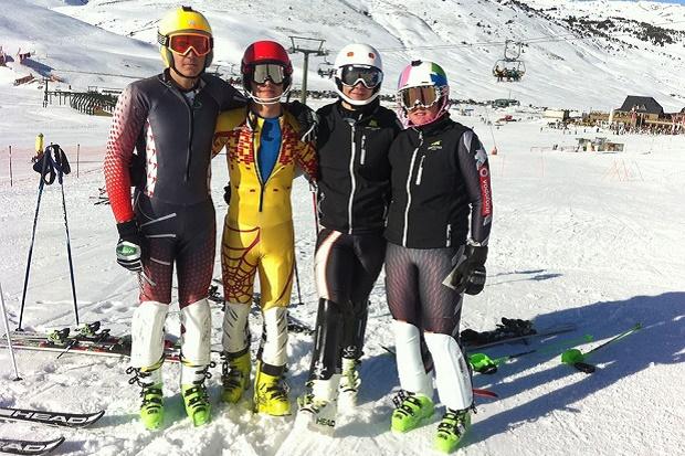 Marco Rando, Ánder Gonzalez, Juan Laplaza y Sofia Gandarias. Foto: CETDI Aragón