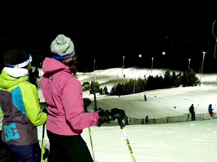 Esquí Nocturno en Masella