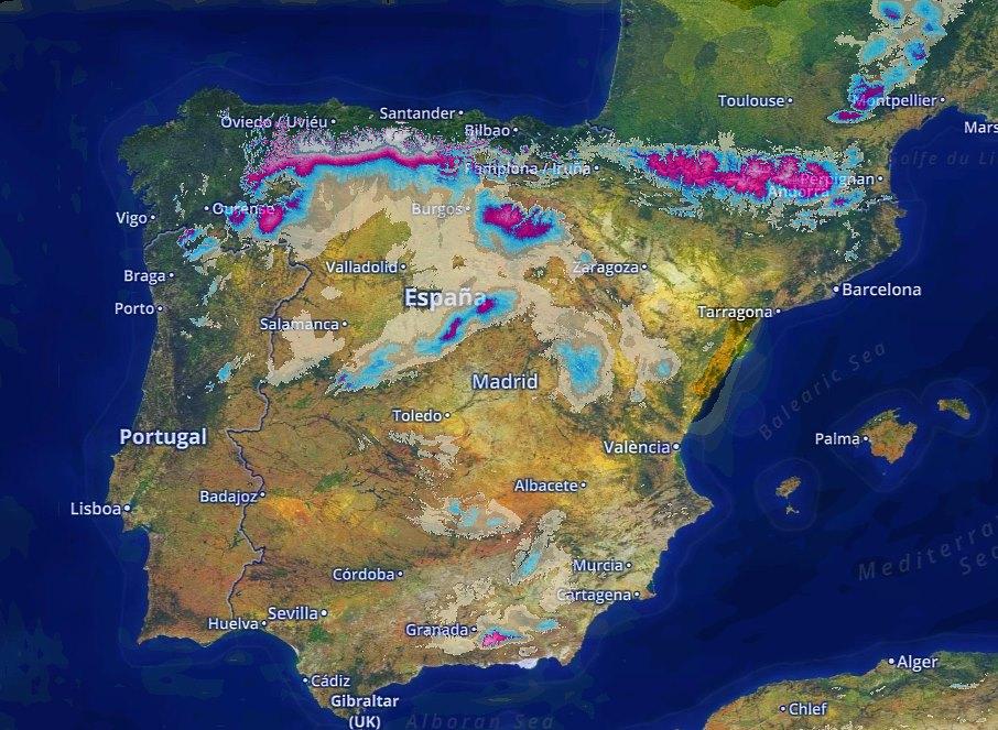 Activada Alerta Por Nieve En La Cordillera Cantabrica Espesores