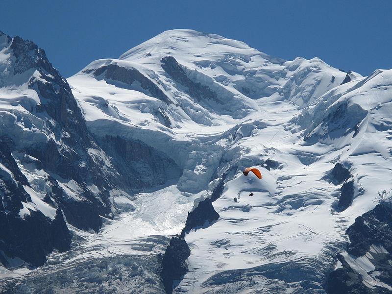 La cima del Mont Blanc. Fuente wikipedia
