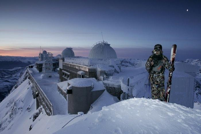 Las vistas a uno u otro lado del Pirineo desde el Pic du Midi de Bigorre son espectaculares