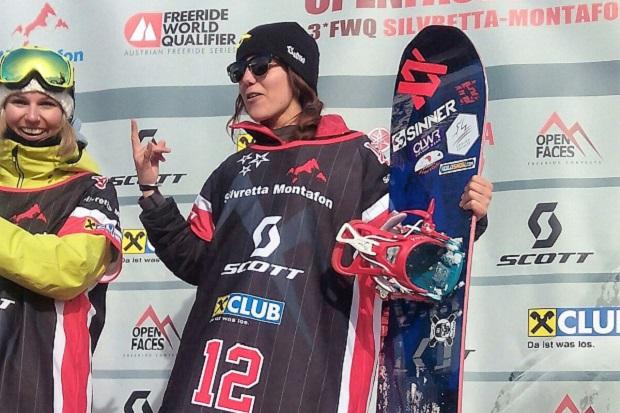 Nuria Castán Barón, podium en el FWQ*** de Montafon (Austria)