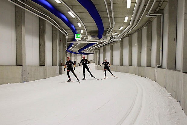 Skisport Halle de Oberhof (Alemania)