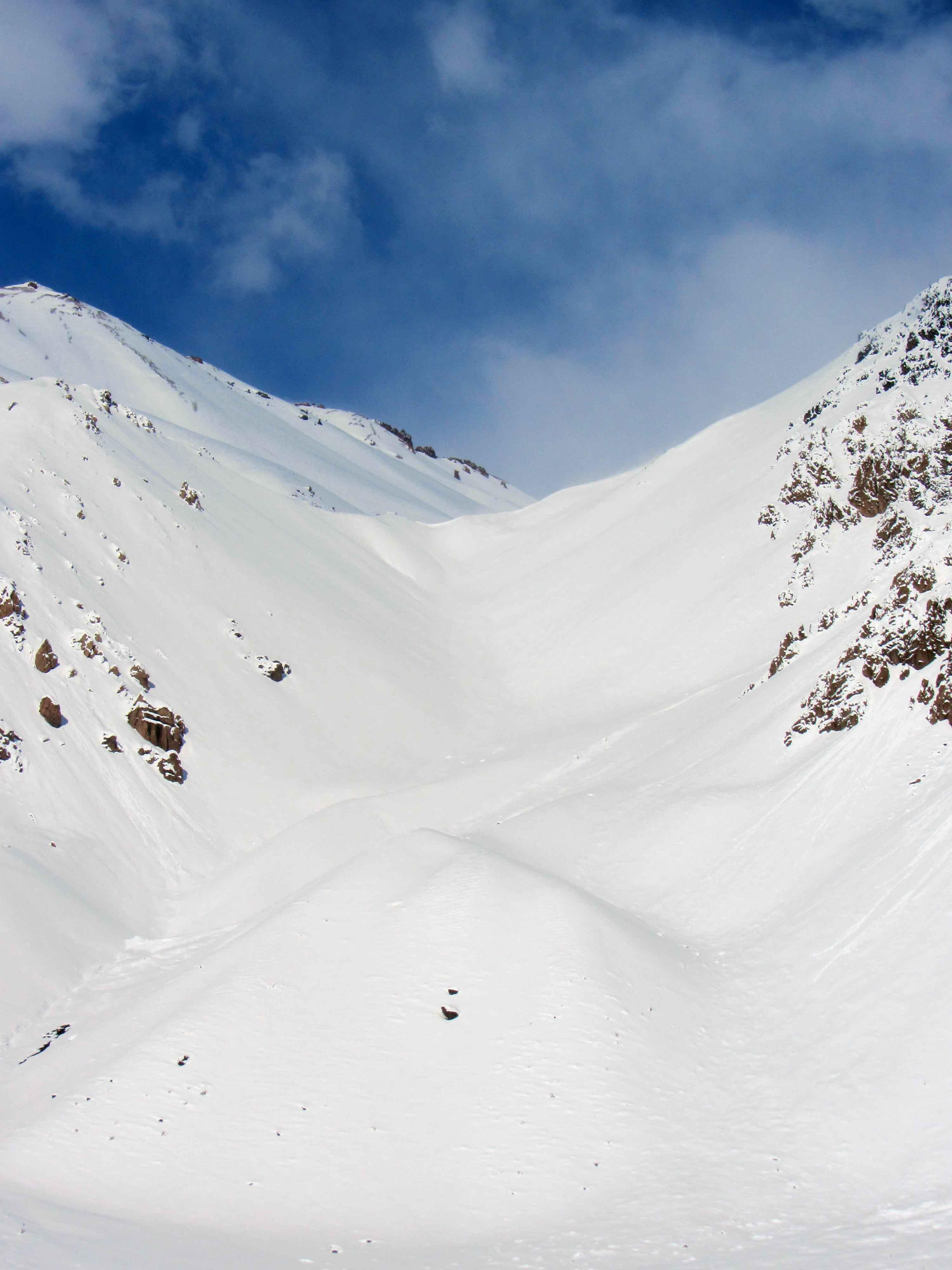 nieve en penitentes