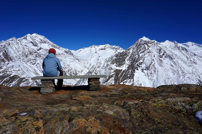 Las vistas de esta estación de los Alpes te dejan alucinado. Saas Fee