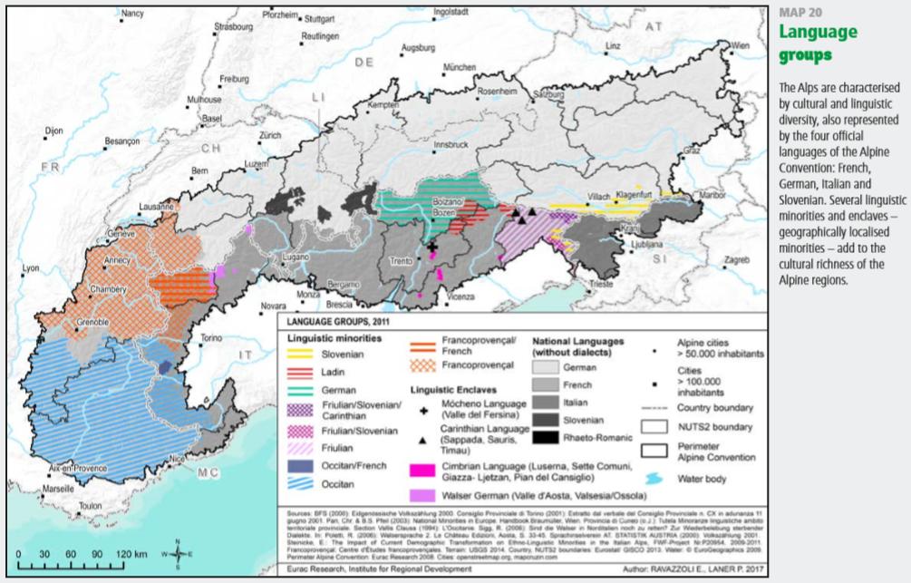 Las lenguas alpinas