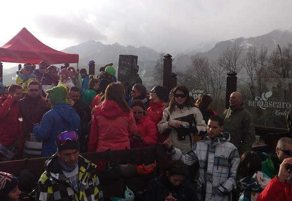 Après-Ski en el Remáscaro de Aramón Cerler
