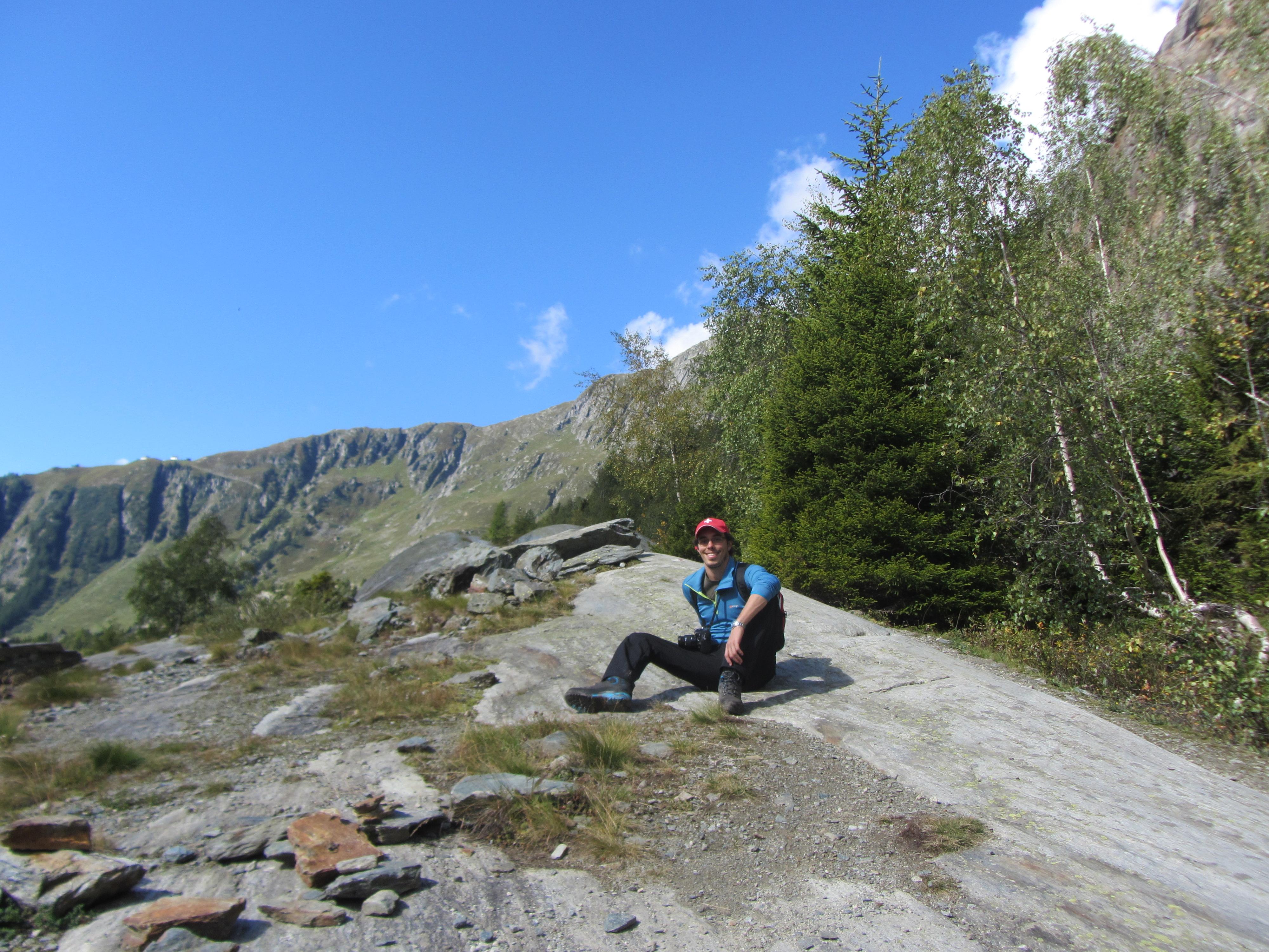 rocas rasgadas por el glaciar