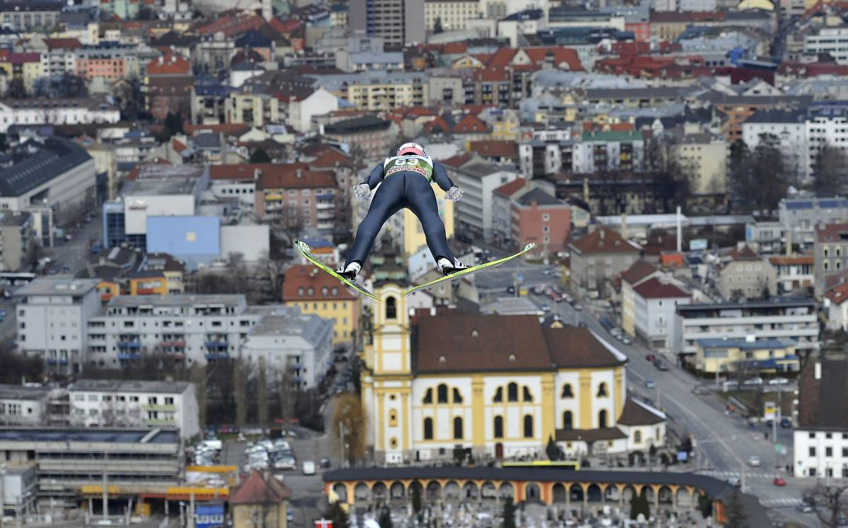 Copa Mundial Four Hills de FIS en Innsbruck (Austria). AFP