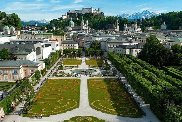Panorámica de Salzburgo. Foto: Oficina de Turismo de Salzburgo (Austria)