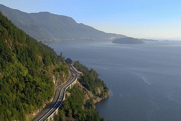 Sea To Sky, el célebre corredor que transcurre por la Columbia Británica desde el mar a las montañas del Canadá