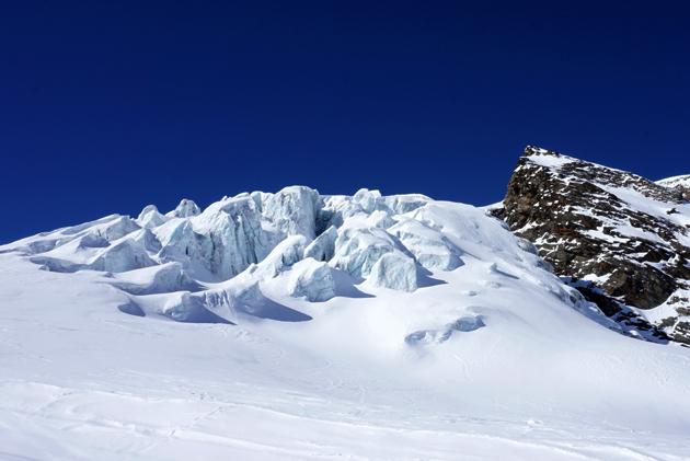 Glaciar de Saas Fee en Suiza. Foto: Gorka Oller