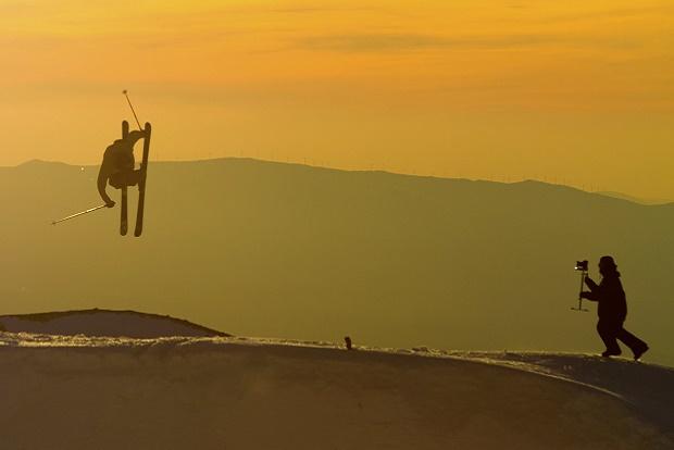 Sierra Nevada promociona el Campeonato Mundial de FreeStyle 2017. Foto: Sierra Nevada
