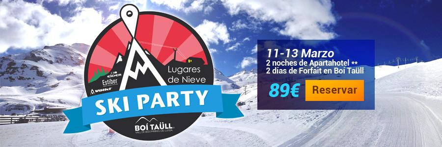 Ven a la Ski Party 2016 en Boí Taüll