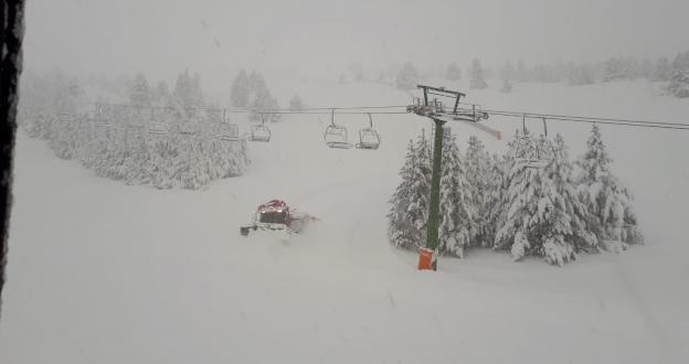 Las mejores imágenes de la gran nevada que saben a Gloria