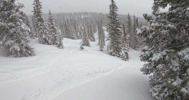 A pesar del cambio climático 11 estaciones de esquí de EE.UU siguen abiertas a finales de mayo