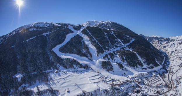 Grandvalira afianza los 170 km esquiables y abrirá la emblemática pista Àliga