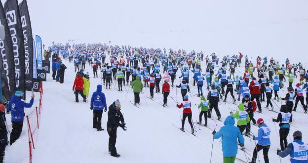 La 41º edición de la Marxa Beret de esquí de fondo se presenta con mucha nieve y gran ambiente