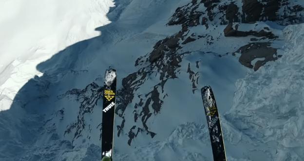 Vídeo: Matthias Giraud se marca en el Mont Blanc el salto BASE de esquí más alto de la historia