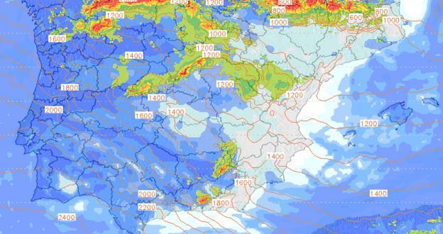 Previsión Meteo Fin de Semana: Grandes nevadas en la Cordillera Cantábrica y los Alpes