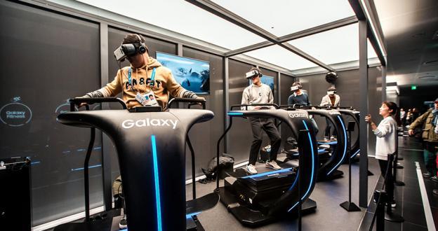 El snowboard virtual da un paso de gigante con una nueva tabla de Samsung