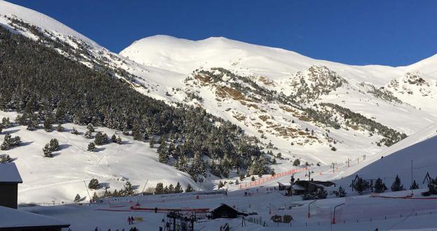 Empieza el esquí de primavera en Vall de Núria