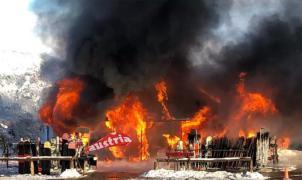 Segundo incendio en 15 días en la estación de esquí argentina de Chapelco