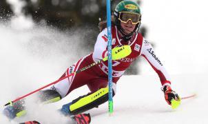 Primera victoria en slalom para Liensberger y liderato en Gigante para Odermatt