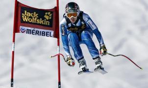 Carolina Ruiz gana en Meribel el primer descenso de la historia de España