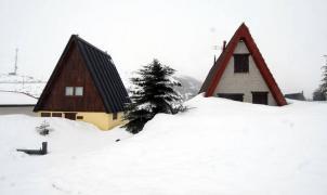Con la nieve al cuello