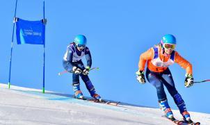 Podios repartidos en la última prueba de gigante de la Copa del Mundo IPC esquí alpino adaptado La Molina