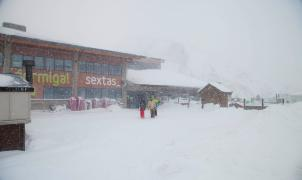 Las estaciones Aramón presentan 283 kilómetros esquiables a día 23 de enero del 2013