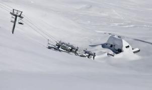 Cauterets en el Pirineo francés, probablemente la estación con más nieve del mundo