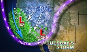 Tormentas de nieve y frío en buena parte de Estados Unidos durante esta semana