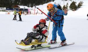 Grandvalira celebra la esquiada más solidaria de la temporada con la mítica familia de esquiadores Fernández-Ochoa