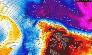 Previsión Meteo: Fin de semana trepidante con la llegada de borrascas que traerán nieve