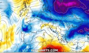 La situación sahariana desaparece y llegan las nevadas a los Pirineos y Sierra Nevada