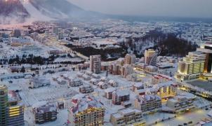 Kim Jong-un crea una ciudad de la nada con una estación de esquí de lujo en Corea del Norte