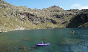 Tristaina: navegación y deportes acuáticos a 2.300 msm en Andorra