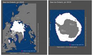 Julio ha sido el mes más caluroso jamás registrado en el planeta tierra