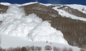 El vídeo de una avalancha de nieve en Colorado triunfa en las redes sociales