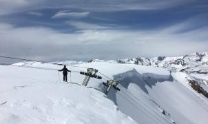 El esquí de verano en Beartooth Basin, Estados Unidos, corre peligro y pide donaciones