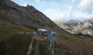 Cerler cuenta los días para abrir la ampliación hacia Castanesa y duplicar pistas y esquiadores